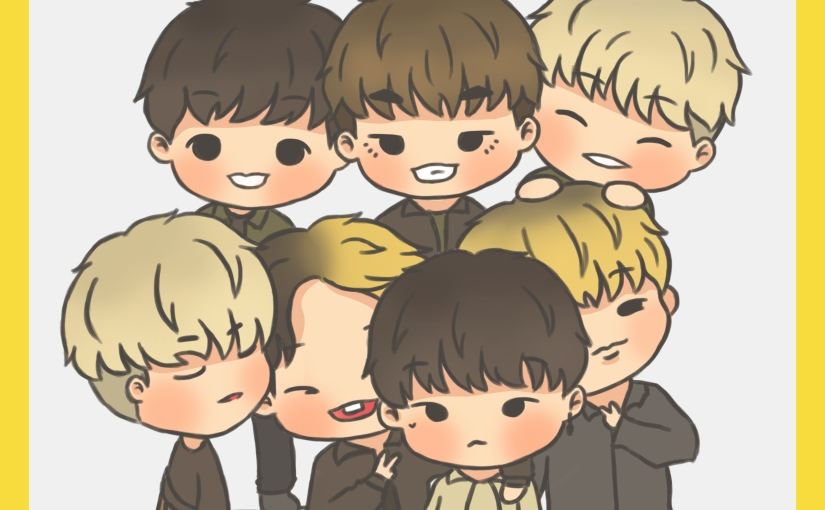 iKON FAN ART – Thalia, a fan artist with a slight Junhwan obsession
