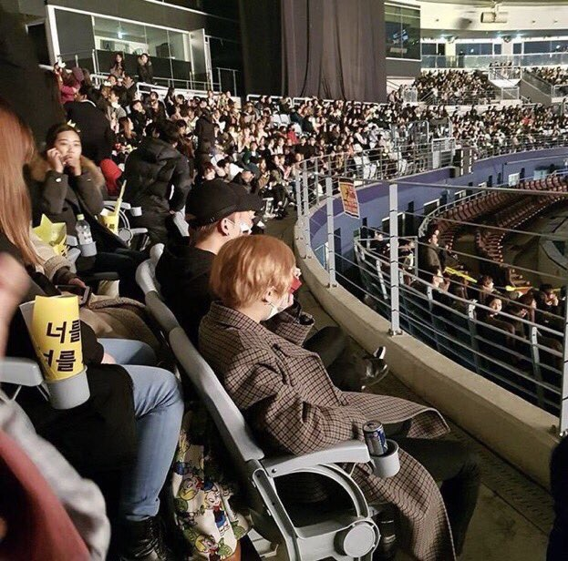 iKON SUPPORT CHERISHED SENIORS BIGBANG AT FINAL LAST DANCE IN SEOUL CONCERT