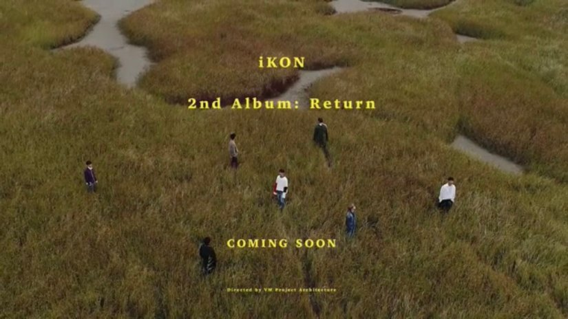 iKON releases teaser film for second full album 'RETURN'.