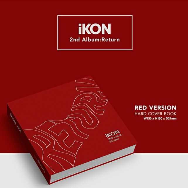 "Covers for iKON's second album ""Return"" revealed"
