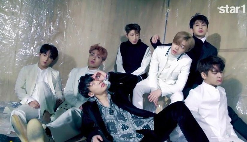 iKON is stunning in a BTS video of a star 1 photo shoot