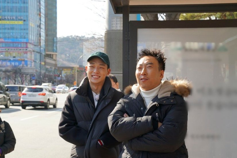 Bobby spotted filming for variety in Busan