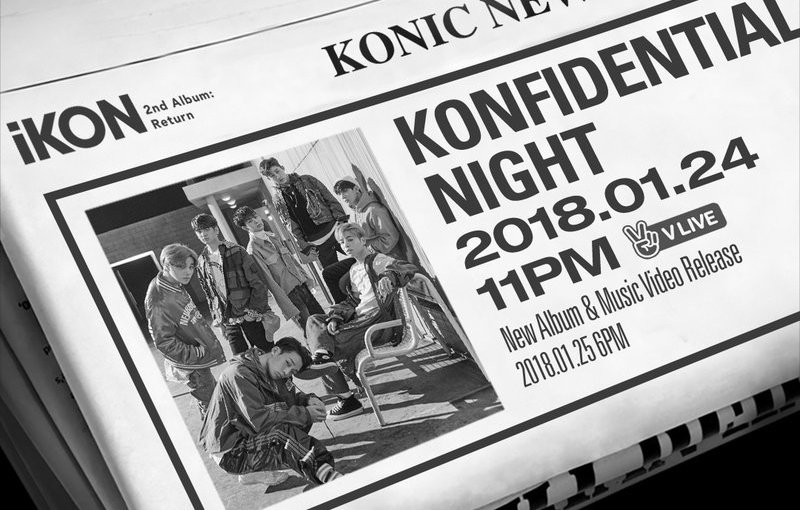 KONFIDENTIAL NIGHT -iKON COMEBACK V LIVE