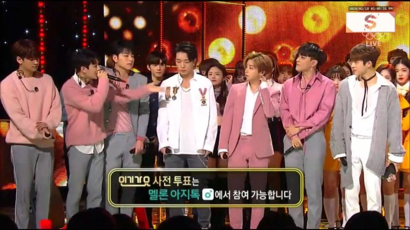 iKON wins its 2nd music show win for Love Scenario on Inkigayo