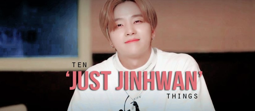 10 'Just Jinhwan' Things for #SexyJinhwanDay