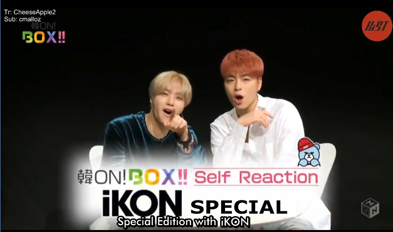 [KiST] Korea ON! BOX!! Self Reaction – iKON Special