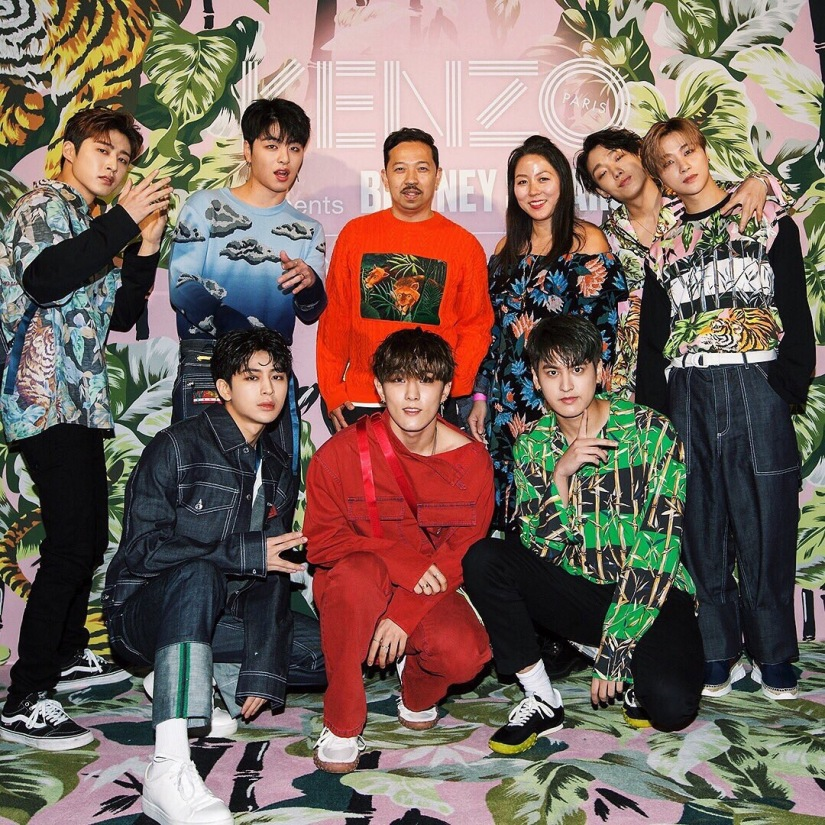 iKON Rock Out Kenzo After Party