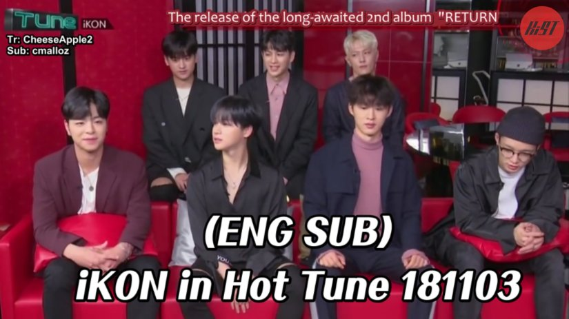 [ENG SUB] #iKON  in Hot Tune 181103